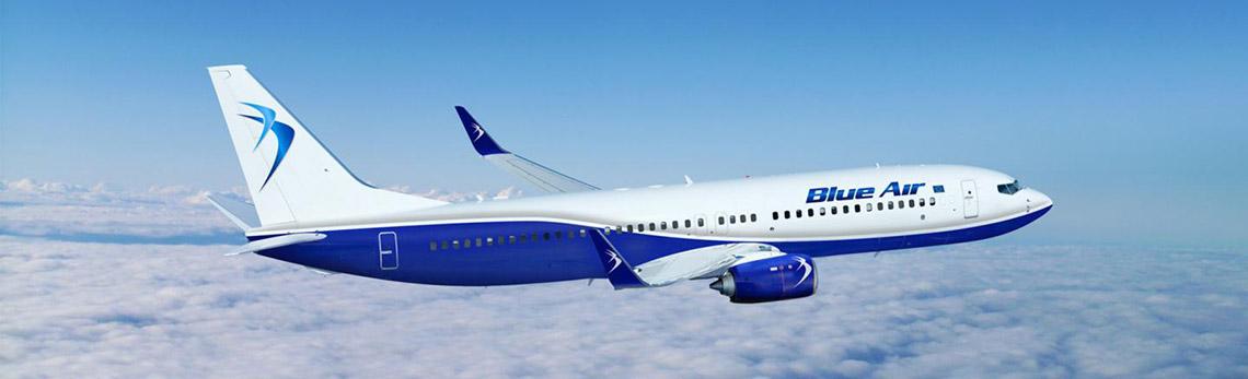 Avión Blue Air